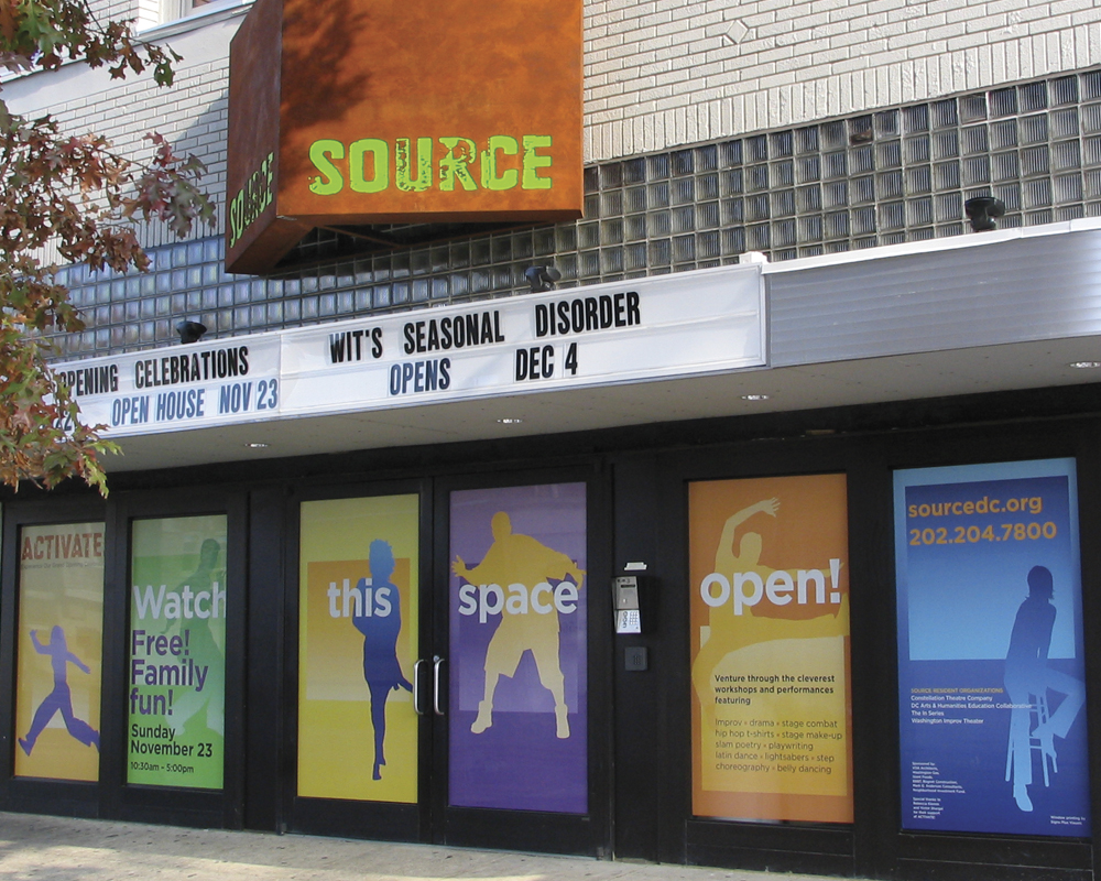 Photo of Exterior of SOURCE Theatre