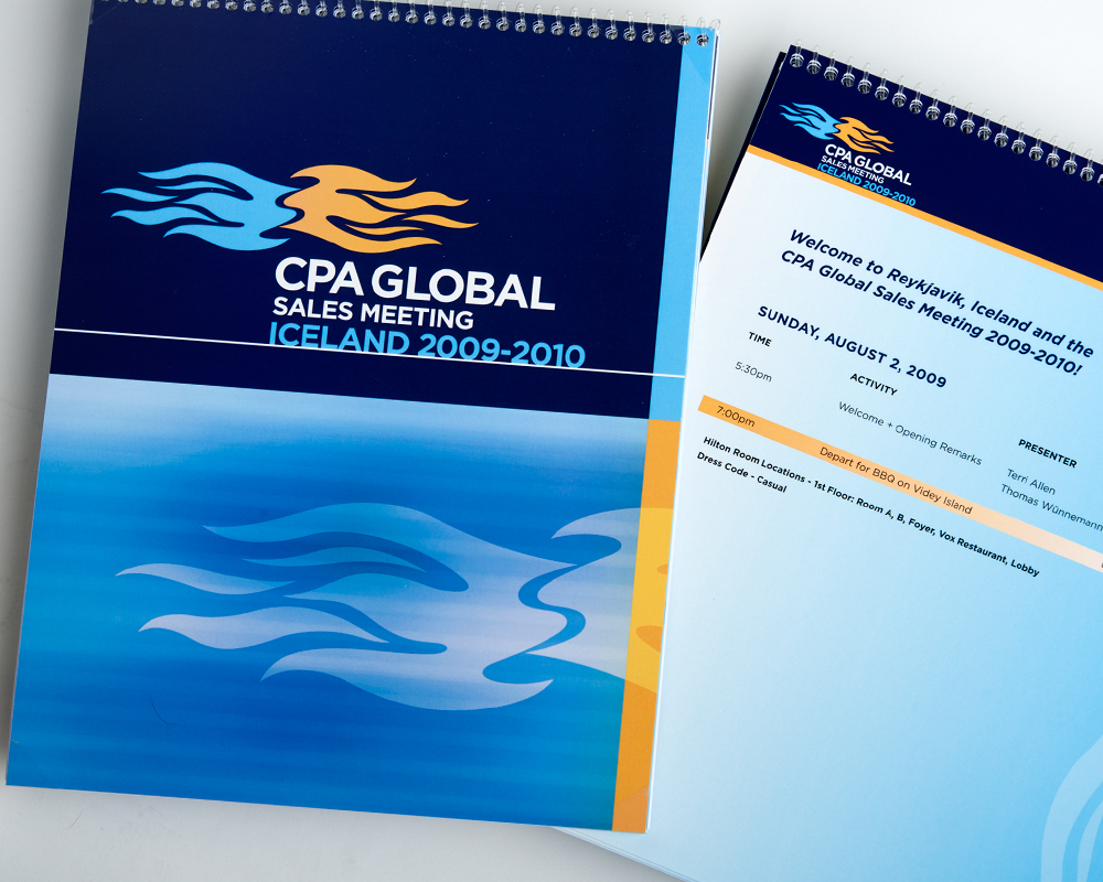 CPA Global Sales Meeting Conference Program
